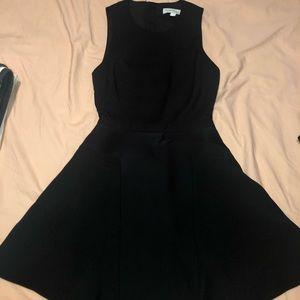 Open back, Black dress XS